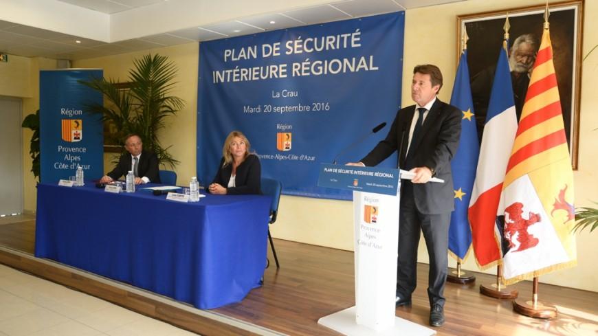 Région PACA : plan de sécurité intérieure régional, C.Estrosi dénonce l'attitude de l'État