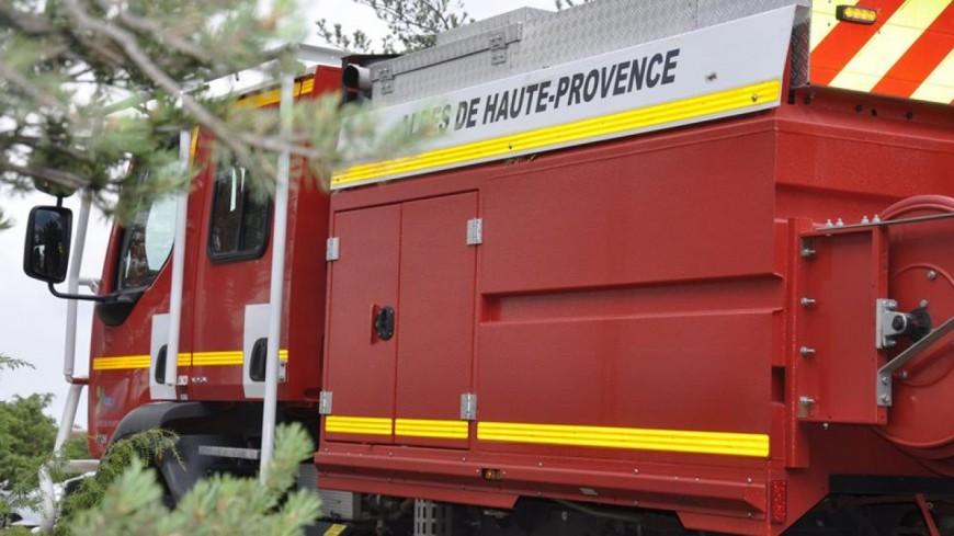 Alpes de Haute-Provence : un feu dans une cuisine à la Foux d'Allos