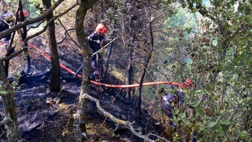 [MAJ] Alpes de Haute-Provence : Marcoux, le feu est calmé mais pas éteint