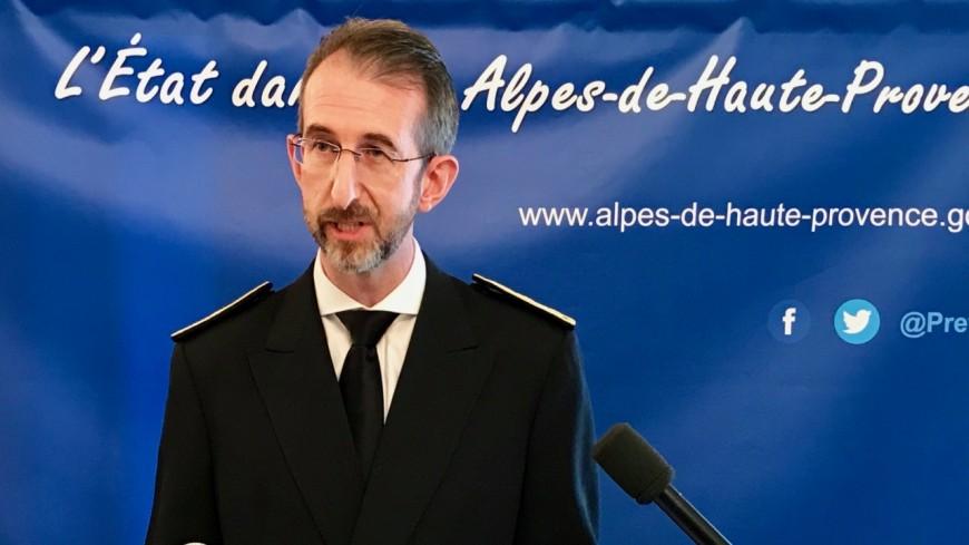 Alpes de Haute-Provence : Olivier Jacob, nouveau préfet, a pris ses fonctions officiellement ce lundi