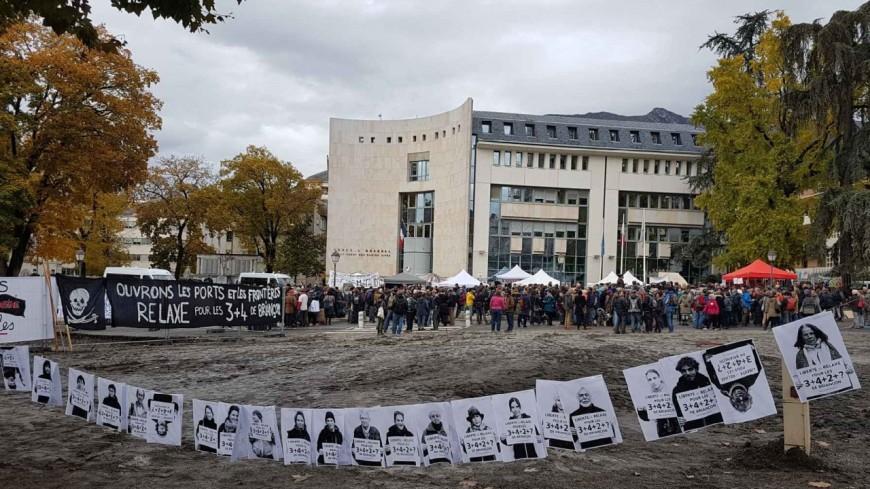 Hautes-Alpes : [MAJ] procès des « 3 + 4 de Briançon », le jugement mis en délibéré