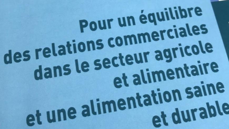 Alpes du Sud : projet de loi agricole et alimentaire, le Sénat modifie le texte