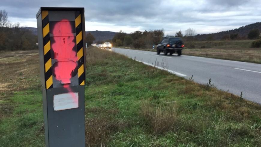 Alpes du Sud : les radars, victimes collatérales des gilets jaunes ?