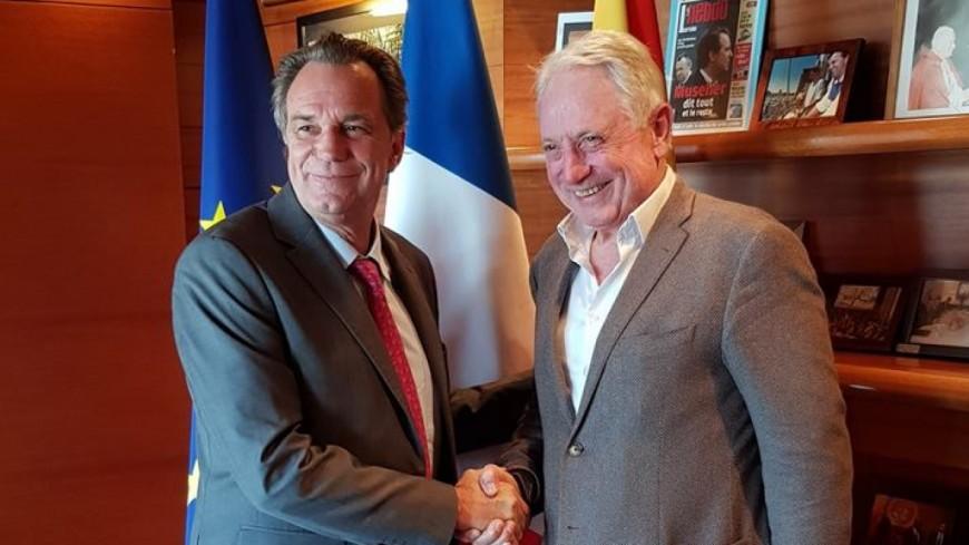 Hautes-Alpes : R.Muselier réaffirme son engagement pour la construction du gymnase de la cité mixte
