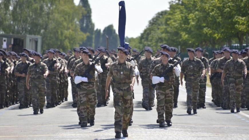 Hautes-Alpes : le 4ème RCH de Gap à l'honneur sur les Champs Elysées