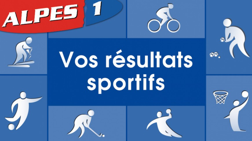 Alpes du Sud : les résultats sportifs du week-end
