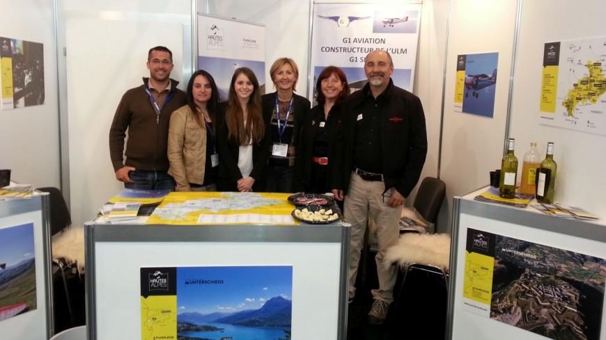 Hautes-Alpes : le département au Salon international de l'aéronautique