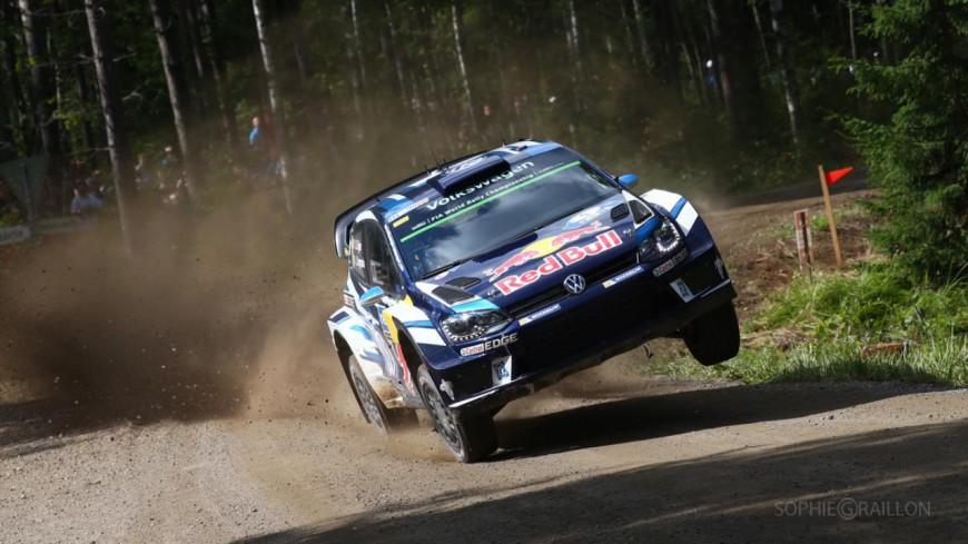Hautes-Alpes : Sébastien Ogier ne remonte pas ses concurrents au rallye de Finlande