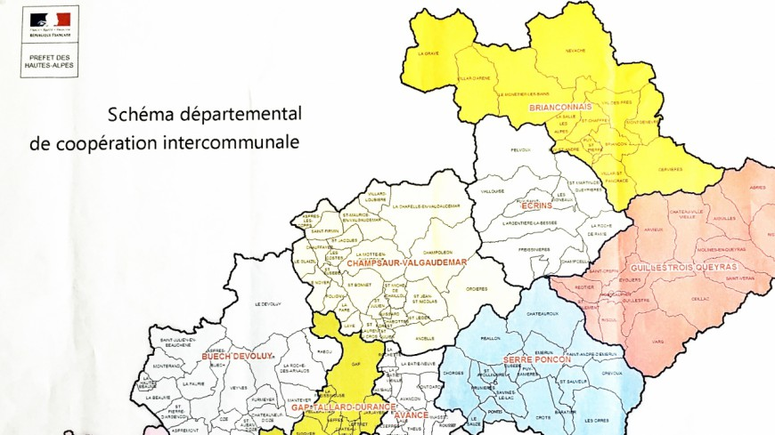 Hautes-Alpes : les intercommunalités prêtes au 1er janvier 2017
