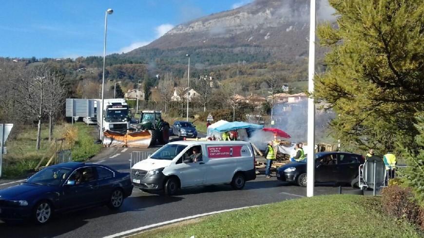 Alpes du Sud : gilets jaunes, ils veulent se faire entendre par le gouvernement