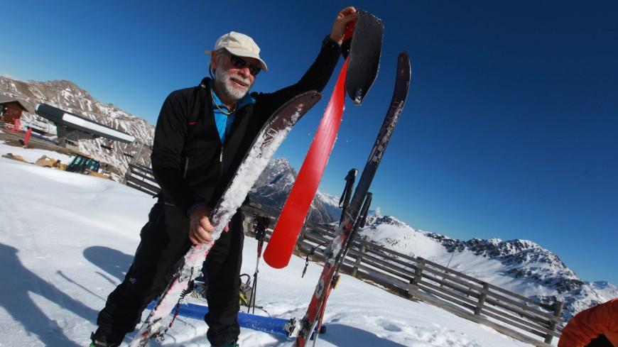 Hautes-Alpes : des retraités inaugurent la 1ère descente en ski de la saison