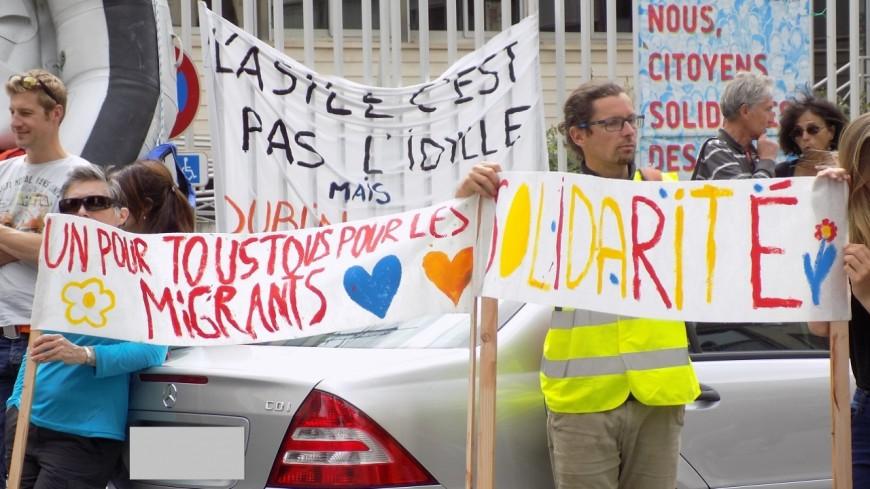 Alpes de Haute-Provence : la mobilisation contre la directive Dublin gagne Sisteron