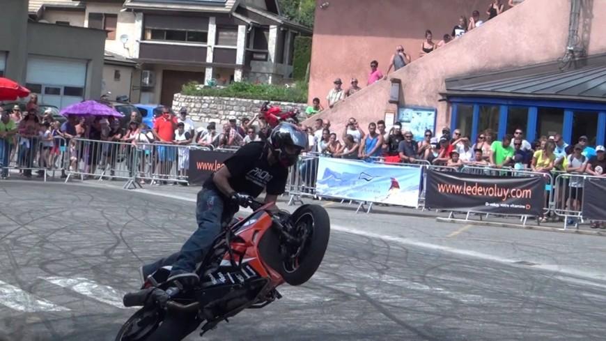 Hautes-Alpes : les motos vont vrombir dans le Dévoluy avec le 9e Contest international de Stunt
