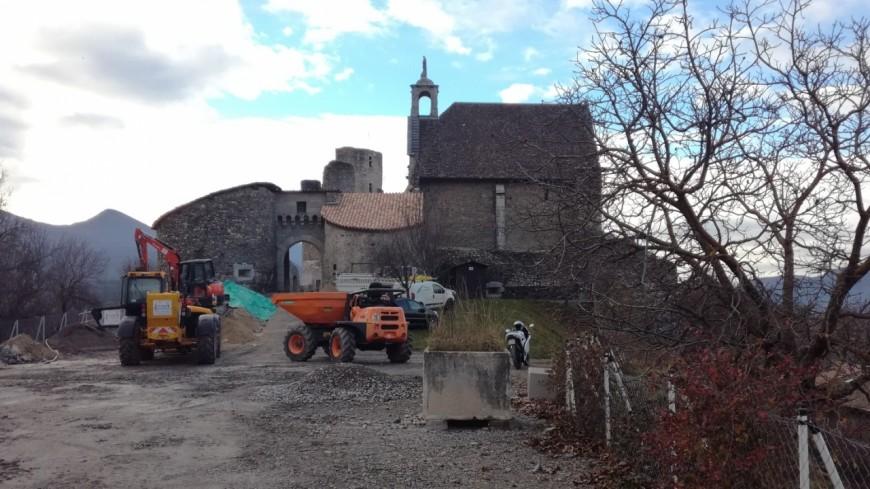Hautes-Alpes : le château de Tallard accueillera bientôt des entreprises