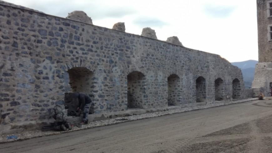 Hautes-Alpes : même en travaux, le château de Tallard pourrait ouvrir au public en 2019