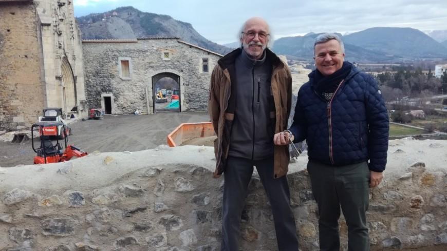 Hautes-Alpes : 2.4 millions d'euros investis sur le château de Tallard