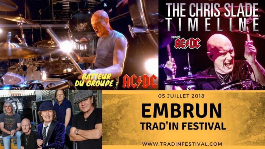 Hautes-Alpes : Trad'in festival, nouvelle date annoncée avec le batteur d'AC/DC, Chris Slade
