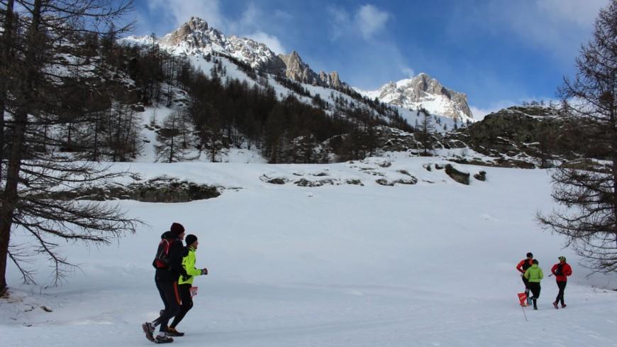 Hautes-Alpes: Névache, un trail 2018 plus blanc que blanc