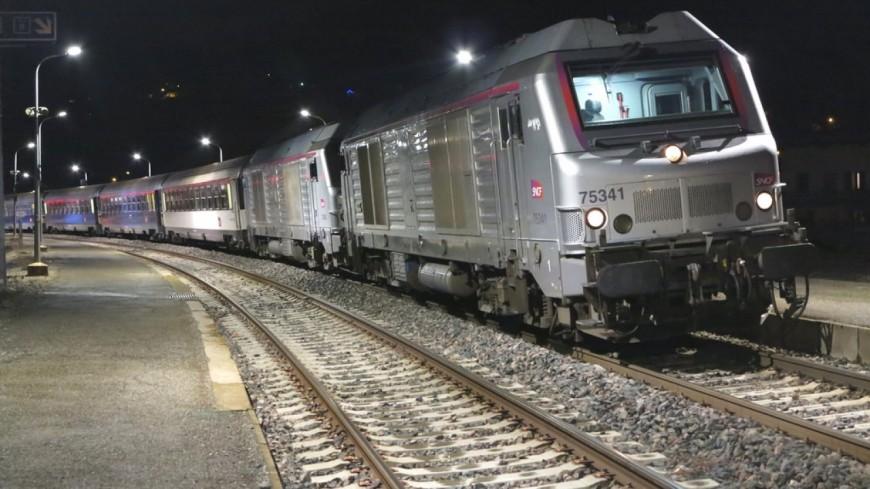 Hautes-Alpes : le train de nuit supprimé pour cause de travaux