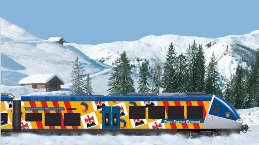 Alpes du Sud : le train des neiges ou l'accès aux stations de ski pour tous