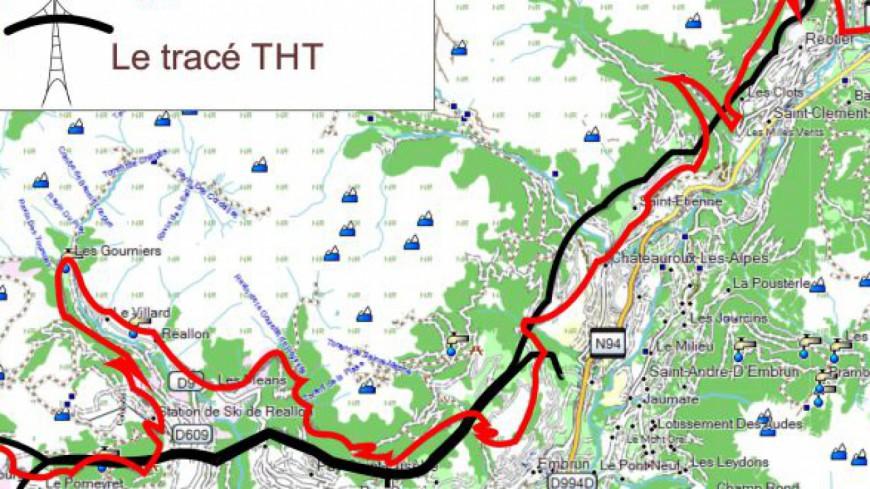 Hautes-Alpes : AHD dénonce un tracé similaire entre la Grande Traversée et le chantier RTE