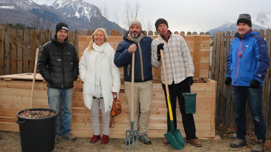 Hautes-Alpes : un nouveau composteur de quartier à Briançon