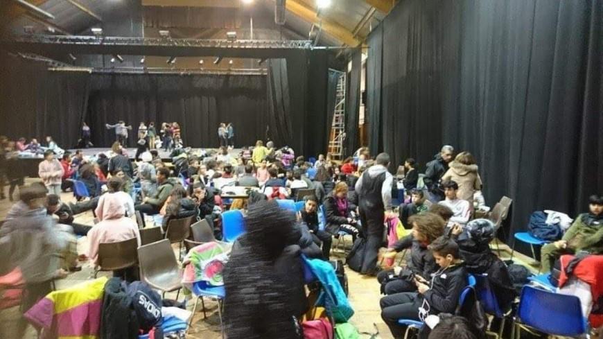 Hautes-Alpes : 150 collégiens bloqués à Guillestre ce vendredi soir