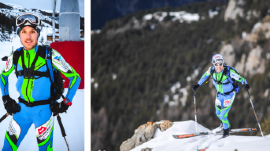 Hautes-Alpes: Vars, Loubet boucle le Tour des Crêtes à ski en 7h47