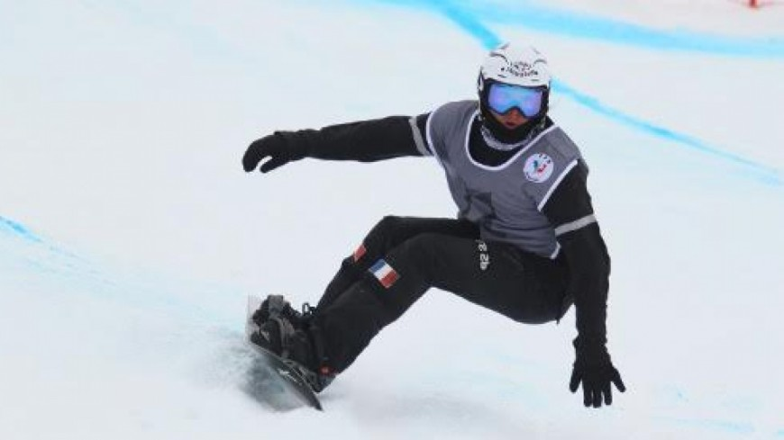 Hautes-Alpes : Guilhem Apilli vice-champion de France de snowboardcross