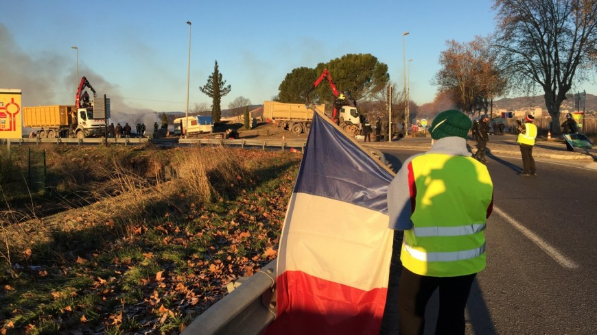 Alpes de Haute-Provence : trois interpellations en marge de l'évacuation du rond-point de Manosque