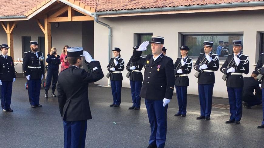 Hautes-Alpes : changement de commandement à la gendarmerie de Veynes