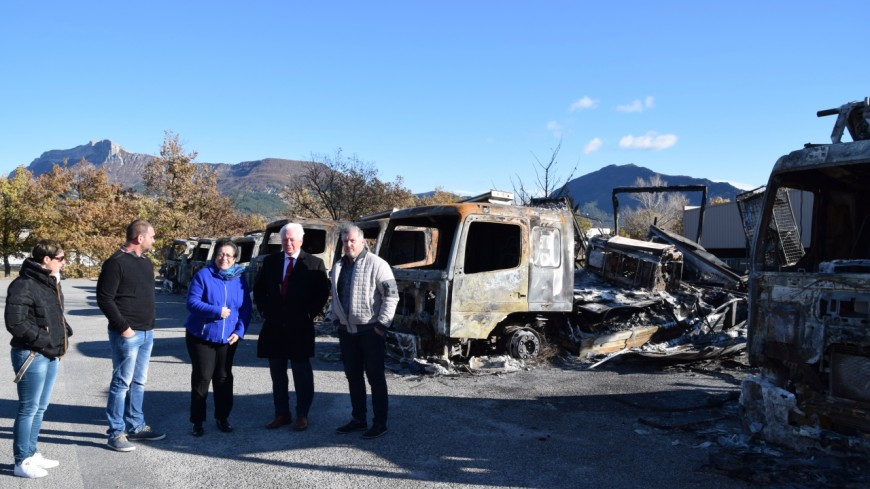 Alpes de Haute-Provence : la Région PACA apporte son soutien à Sisteron suite à l'incendie de l'abattoir