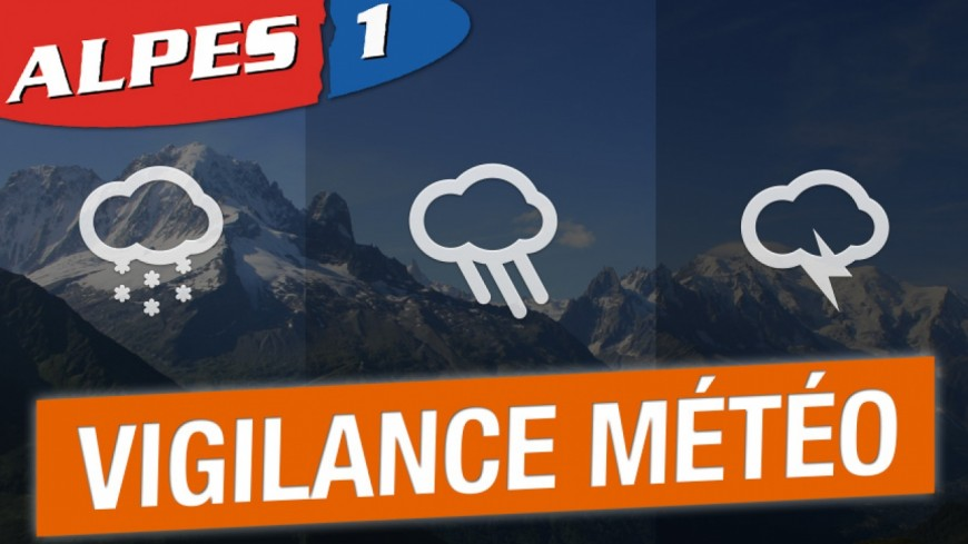 """Hautes-Alpes : le département en alerte """"orange"""" pour orages et précipitations"""