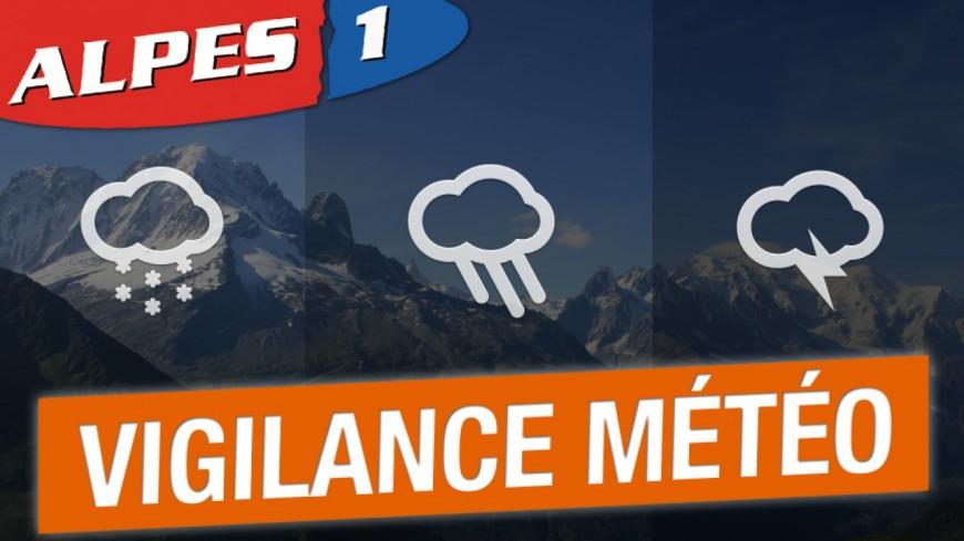 [MÀJ] Alpes de Haute-Provence : vigilance orange orages et précipitations