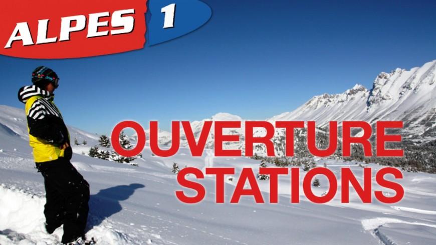 Alpes du Sud : [CARTE] les dates d'ouverture des stations de ski dans nos départements
