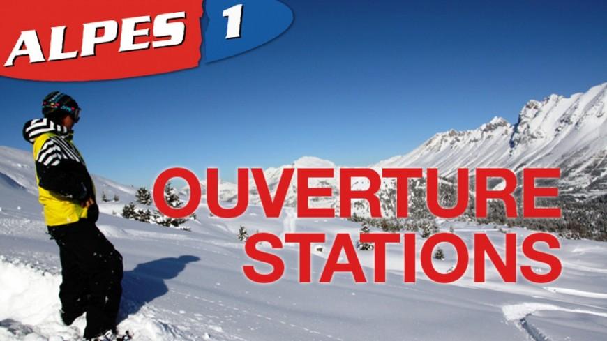 Alpes du Sud : quelles stations ouvriront ce week-end ?