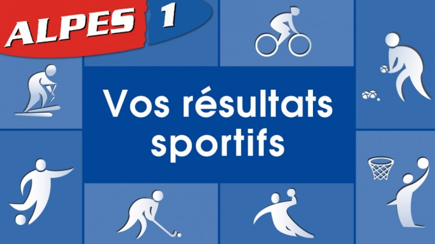Alpes du Sud : les résultats sportifs de votre week-end