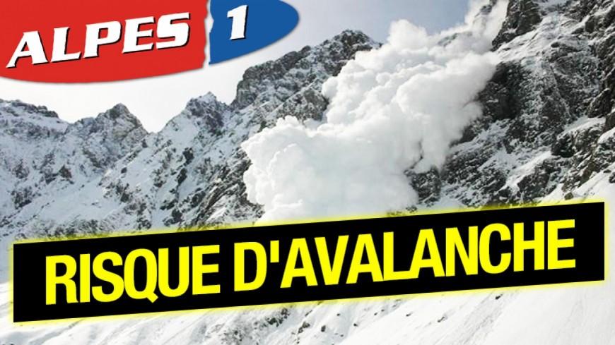Alpes du Sud : des coulées de neige lourde et humide