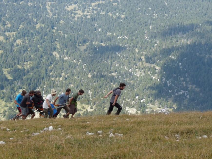 Hautes-Alpes : randonnée en Joëlette pour les personnes à mobilité réduite