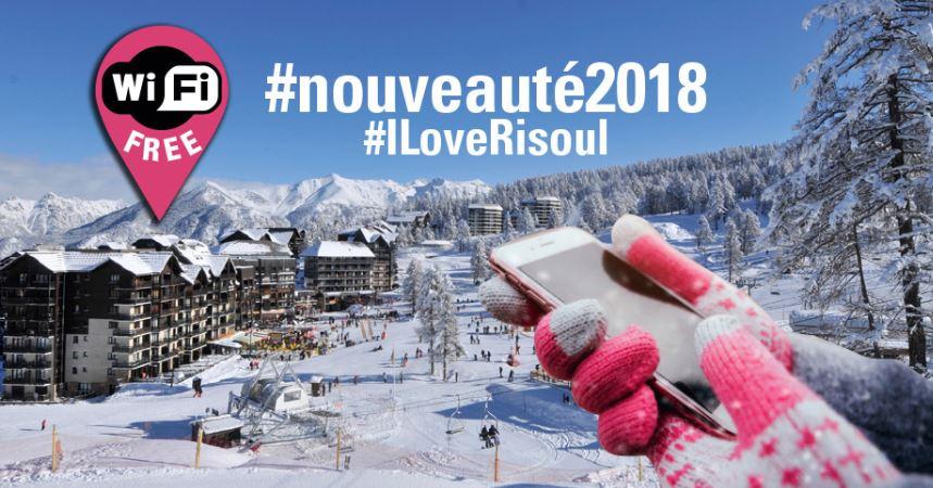 Hautes-Alpes : le WIFI gratuit à Risoul cet hiver dans la station et sur les pistes