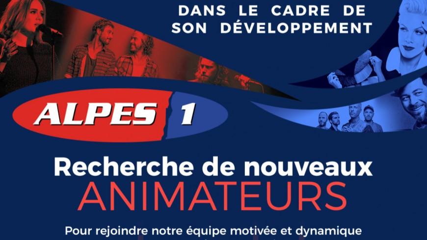 Alpes1 recrute des animateurs !
