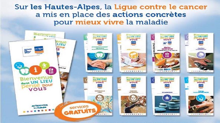 Alpes du Sud : Ateliers de calligraphie proposés par la Ligue contre le cancer des Hautes-Alpes.