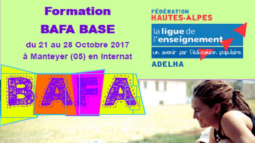 Alpes du Sud : Préparation au BAFA à Manteyer du 21 au 28 octobre.