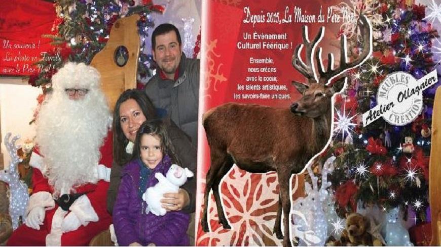 Hautes-Alpes : Ouverture de la Maison du Père-Noel à Briançon ce samedi 8 décembre.
