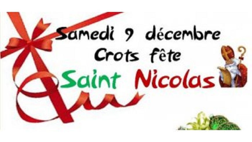 Hautes-Alpes : Fete de la St Nicolas samedi 9 décembre à Crots