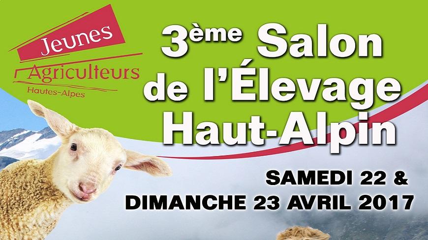 Hautes-Alpes : 3ème Salon de l'élevage ces 22 et 23 avril 2017 à Gap