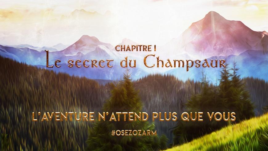Hautes-Alpes : Découverte de OZARM : un nouveau concept d'aventure associé à une chasse au trésor dans le Champsaur