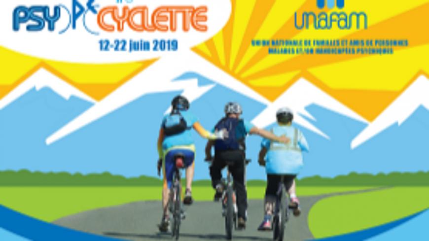 Alpes1 Magazine du lundi 13 mai 2019: Brigitte Saez Nectoux (La psycyclette)