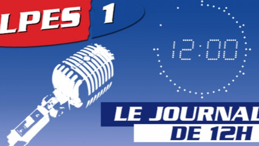 Le Journal Alpes 1 de 12h du Vendredi 29 Novembre 2019