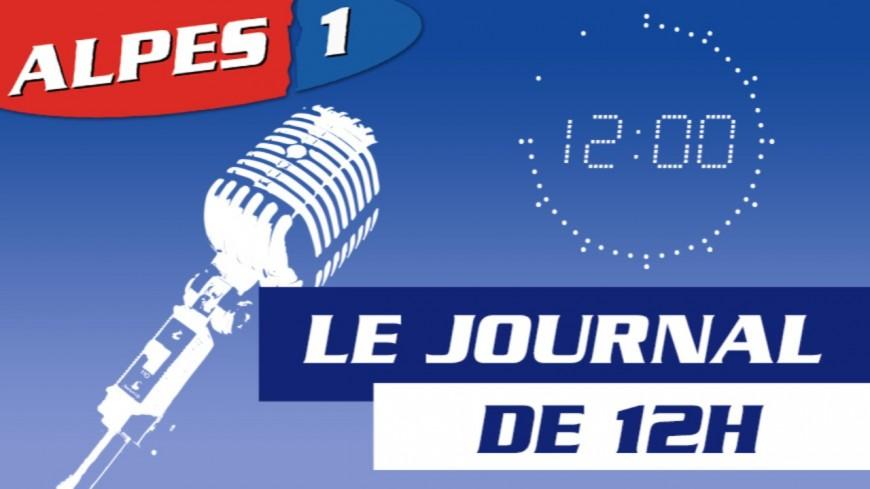 Le Journal Alpes 1 de 12h du Jeudi 13 Février 2020